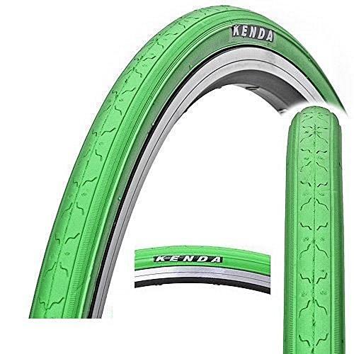 KENDA K152 Fahrradreifen, Fixed Fear, Fixie, Singlespeed, Rennrad, Track Bike Reifen (grün)