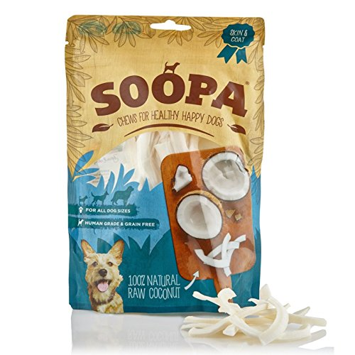 Soopa Coconut Chews Hundeleckerli, 100 g