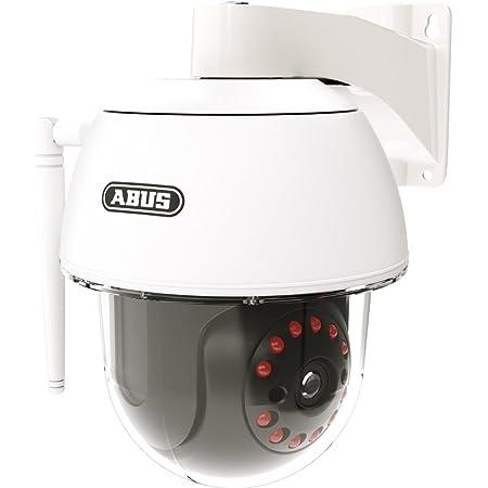 Abus Überwachungskamera Für Den Außenbereich Schwenk Und Neige Kamera Wlan Ip66 Infrarot Nachtsicht Zugriff Via App Weiß 00360 Baumarkt