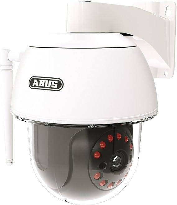 ABUS Smart Security World - Cámara de vigilancia con WiFi para Exteriores PPIC32520 (orientación de 270°, ángulo de inclinación de 90°, para ...