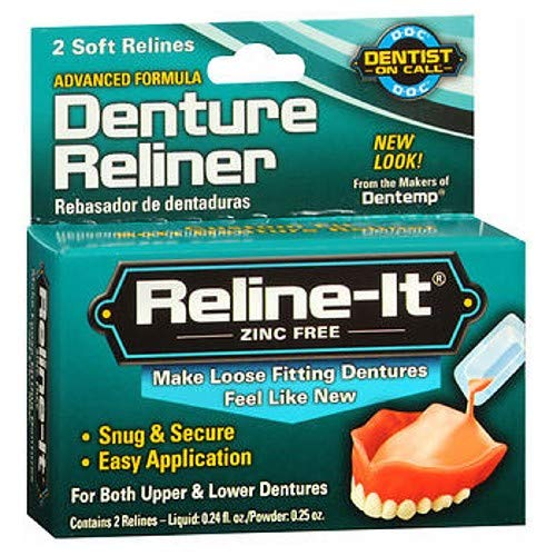 D.O.C. Reline-It Denture Reliners - 2 ct