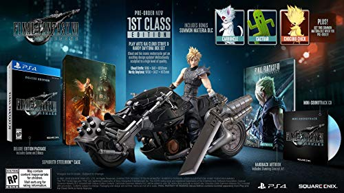 FINAL FANTASY VII 7 - REMAKE - 1ST CLASS COLLECTOR EDITION - PS4 Playstation 4