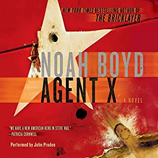Agent X audiobook cover art