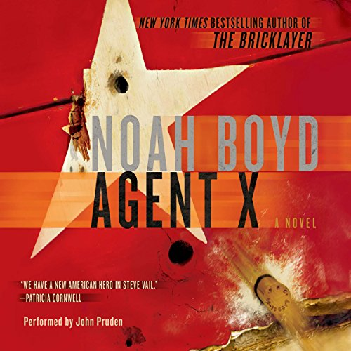 Agent X audiobook cover art