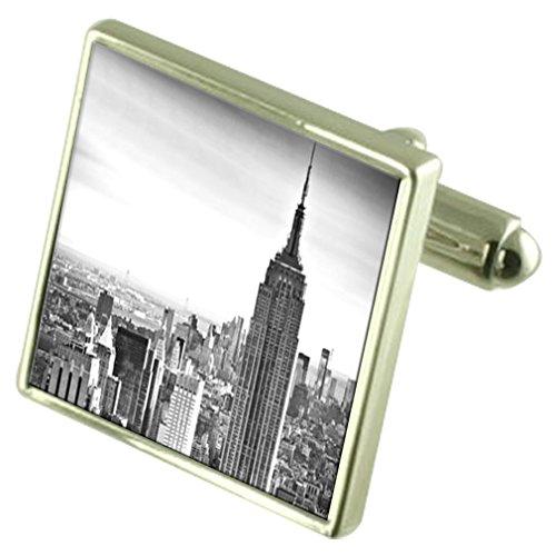 Select Gifts El Empire State de Nueva York Skyline Grabado Keepsake Cuadro de Mensaje