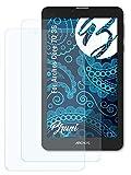 Bruni Schutzfolie kompatibel mit Archos Core 70 3G Folie, glasklare Bildschirmschutzfolie (2X)