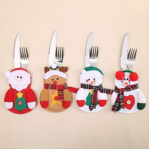 Neues Jahr Frohe Weihnachten Messer Gabel Besteck Rock Hosen Esstisch Dekorationen Für Zuhause Weihnachten