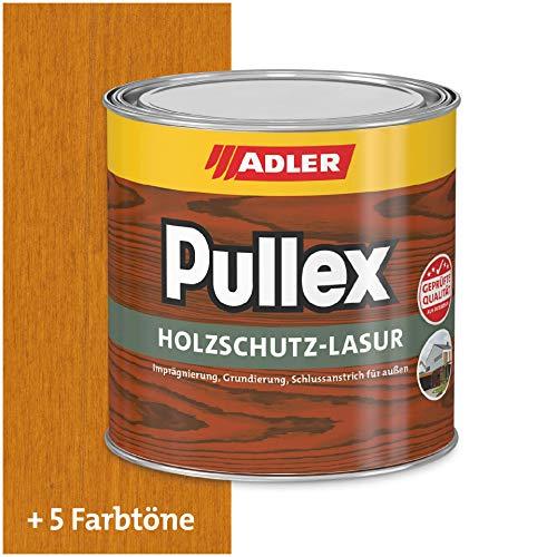 ADLER Pullex Holzschutzlasur Lärche 750ml - 2in1 Imprägnierung und Holzlasur aussen - Universelle, aromatenfreie Lasur für Holz im Außenbereich. Perfekter Holzschutz
