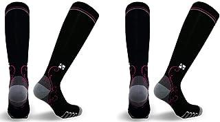 Vitalsox Silver Drystat Graduated Compression Socks (2 Pack)