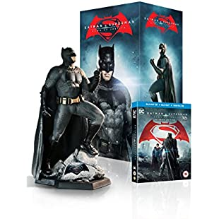 Batman v Superman Dawn of Justice - Batman Statue Ultimate Edition [Limited Edition - Exclusive to Amazon.co.uk] [Includes Digital Download] [Blu-ray 3D + Blu-ray]:Tourlombok-piranti