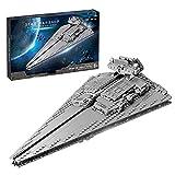 WWEI Destructor de estrellas imperial, bloques de construcción, galáctico, Victory Kreuzer 891, bloques de construcción compatibles con Lego Star Wars 75252