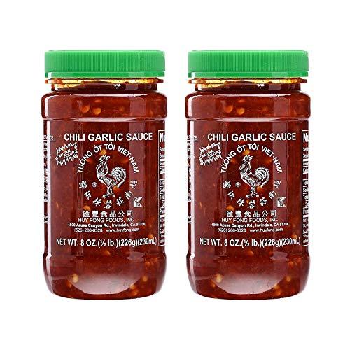 Huy Fong Vietnamese Chili Garlic Sauce 8 Oz Pack of 2