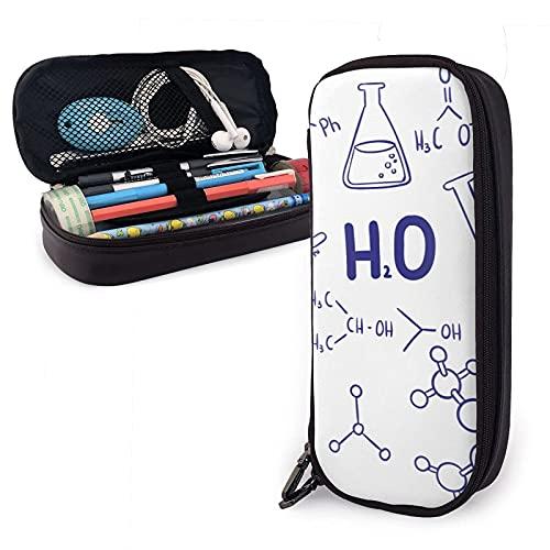 Estuche Chemical Elements Formul Unit Of Measurement gran capacidad, estuche multifuncional de almacenamiento a prueba de agua, adecuado para la escuela, la oficina, niños y niñas
