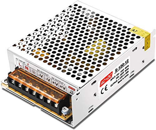 Kingwei 12V 10A 120W Transformador de Potencia