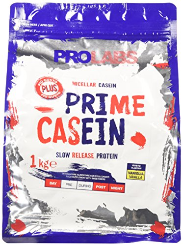 Prolabs Prime Casein Vaniglia - Busta da 1kg