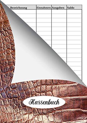 Kassenbuch: 📕 Einnahmen- und Ausgaben Journal - einfach | 120 Seiten | DIN A4 | 21 x 29,7 cm (8,27 x 11,69 Zoll) | V.03