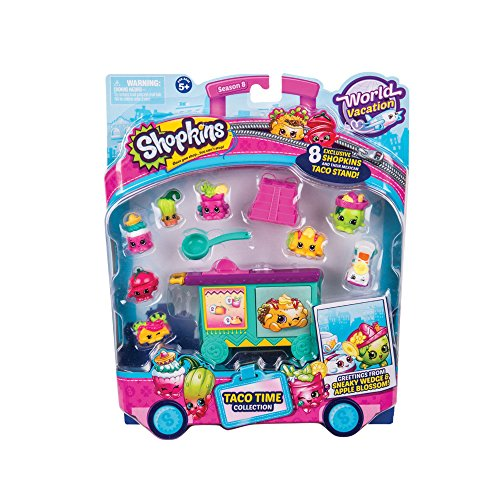 Shopkins Deluxe Packs - Taco Time Collection
