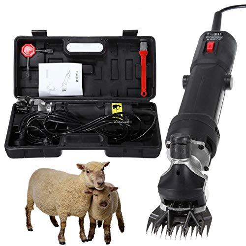 Iglobalbuy Schaf Schermaschine,320W Schafschermaschine Elektrische Schafschere Fellpflege