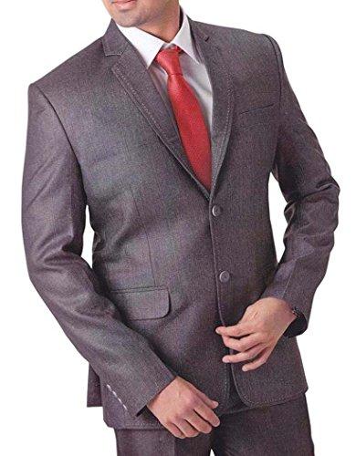 INMONARCH Hommes Gris 4 pc costume smoking de grandioses TX758R36 46 or S (hauteur 171 cm a 180 cm) Gris foncÉ