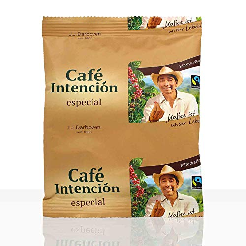 Darboven Cafe Intencion especial Fairtrade - 100 x 60g Kaffee gemahlen