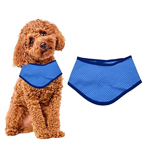 Pañuelo de Perro, Pañuelos de Perros Pequeños,Collar de Enfriamiento para Perros, Collar refrigerante para Mascotas, Pañuelo Refrescante para Perros/Gatos