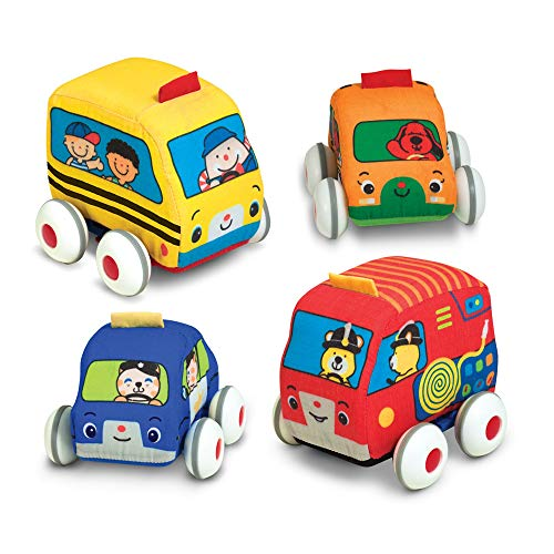 Melissa & Doug Kids Pull Back Vehicle Set