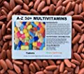 The Vitamin A - Z / 50+ Multivitamins 120 Tablets - Bagged (Now Coated)