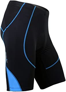Santic Cycling Men's Shorts Biking Bicycle Bike Pants Half Pants 4D Coolmax Padded