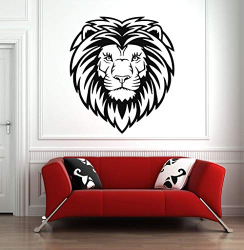 Tianpengyuanshuai muursticker dier leeuw vinyl sticker wanddecoratie slaapkamer woonkamer patroon afneembaar waterdicht