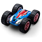 USA Toyz RC Cars for Kids Stunt Remote Control Car w/ Off Road RC Car Tires and 2 RC Car Batteries for Fast RC Cars for Adults + Kids