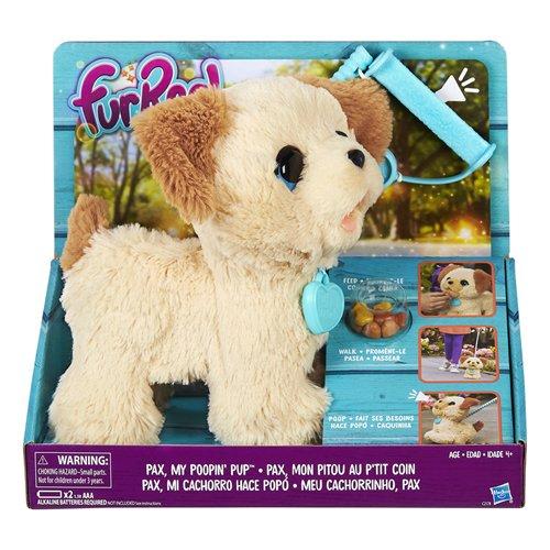 FurReal - Pax, il cagnolino che fa i bisognini, 4 anni +, C2178EU4