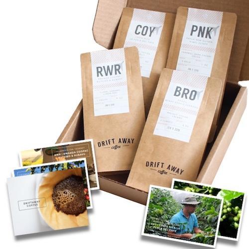 Driftaway Coffee - World Explorer's Coffee Sampler Subscription: 1 LB