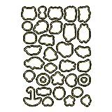Ltervoercaern - Molde de Silicona para Estampado de Animales, para Hacer Tarjetas, para Hacer Tarjetas, Tarjetas de Papel de invitación para álbumes de Recortes (H6341)