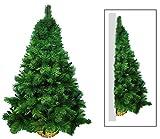 manieri Albero di Natale da Parete 150 Rami Ø70xH120cm Basket Verde