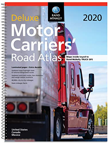 Rand McNally 2020 Deluxe Motor Carriers' Road Atlas