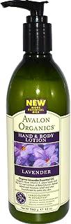 Avalon Organics Hand & Body Lotion Lavender 12 oz (340 g)