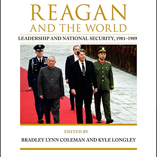 Reagan and the World audiobook cover art