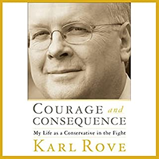 Courage and Consequence audiobook cover art