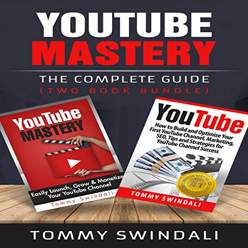 YouTube Mastery audiobook cover art