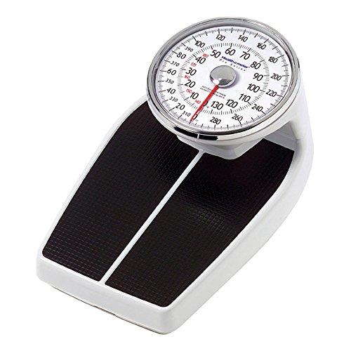 "Health O Meter 160KLS Mechanical Floor Scale, 400 lb. Capacity, 12-1/2"" x 11"" x 3"" Platform"