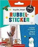 Rubbel-Sticker: Geeignet für Papier, Metall, Holz und Glas