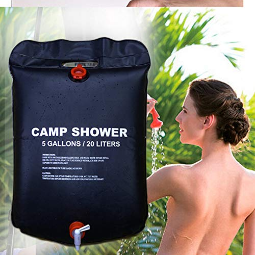 STHfficial 20L draagbare zonne-verwarmd water tas energie verwarmd zwemmen outdoor camping douche tas picknick water zak BBQ wandelen water opslag