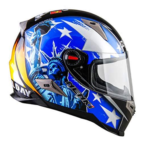 Casco integral y gafas Casco de moto Moto Motocross Casco de moto Crash Casco Scooter Riding Cascos integrales