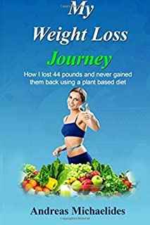 My Weight Loss Journey: How I lost 44 pounds and never gained them back using a plant based diet.