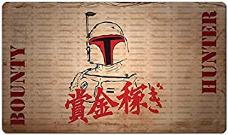 Inked Playmats Bounty Fett Playmat Inked Gaming TCG Game Mat for Cards