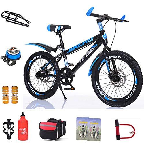 MUYU 20 (22, 24) inch kindermountainbike voor en achter dubbele schijfremmen aluminium aluminium wiel