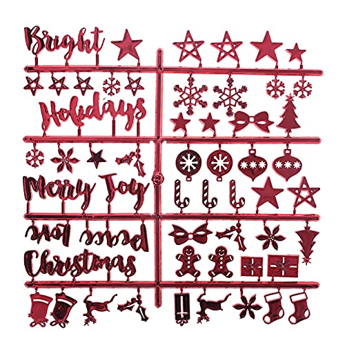 Christmas Holiday Characters for Changeable Felt Letter Board Message Boards Words Office Home Decoration Accessories Felt Letter Board