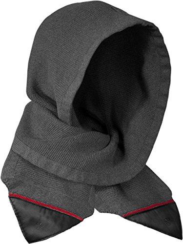 Musterbrand Assassin's Creed Kapuzen-Schal Solomon's Mantle Winterschal Grau One size