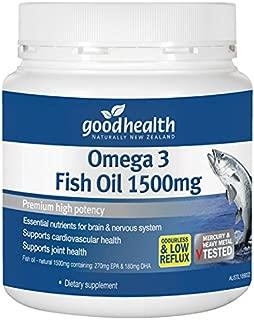 [goodhealth] Omega 3 Fish Oil 1500mg 400 Cap