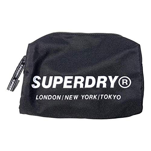 Superdry Cosmic - Neceser, color negro